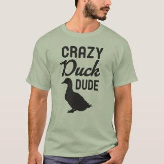 Camiseta T-shirt louco do gajo do pato