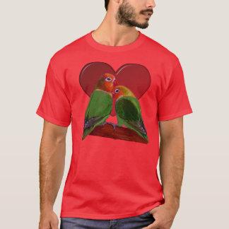 Camiseta T-shirt - Lovebirds do dia dos namorados