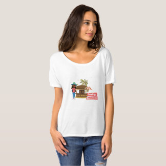 Camiseta T-shirt Loving do Slouch do Sierra Leone para