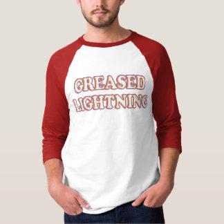 Camiseta T-shirt lubrificados do relâmpago