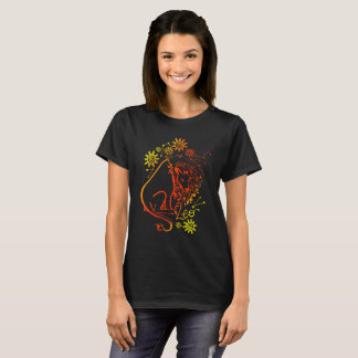 Camiseta T-shirt Luminescent do sinal do zodíaco de Leo
