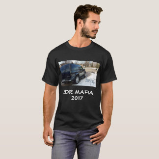 Camiseta t-shirt mágico azul da máfia 2DR