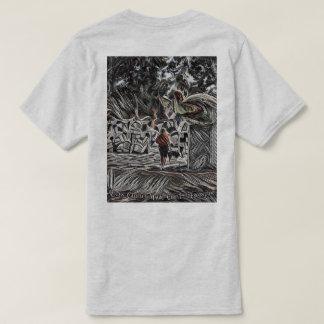 Camiseta T-shirt mágico do círculo da rainha Califia