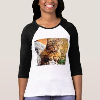 Camiseta T-shirt magnífico do racum de Maine