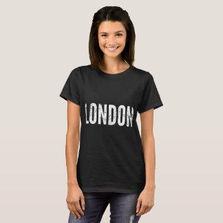 Camiseta t-shirt magros do gym do ajustado de Londres