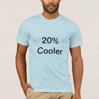 Camiseta T-shirt mais fresco de 20%