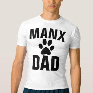 Camiseta T-shirt MANX & camisolas do CAT do PAI