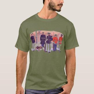 Camiseta T-shirt marinho da participação esperta U.S.Style