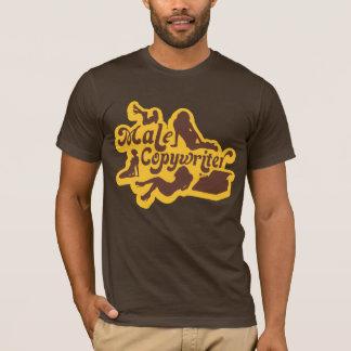 Camiseta T-shirt masculino do Copywriter para os homens que