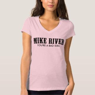 Camiseta T-shirt mau da ideia da mulher oficial do rio de