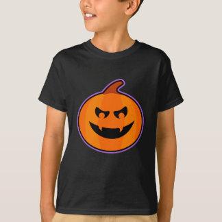Camiseta T-shirt mau da Jack-O-Lanterna dos miúdos