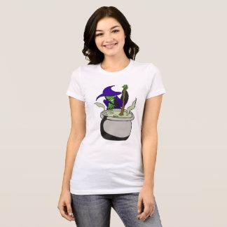 Camiseta T-shirt mau do gráfico do Dia das Bruxas do