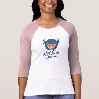 Camiseta T-shirt mau do pelotão das meninas