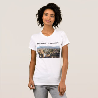 Camiseta T-shirt Medellín, Colômbia