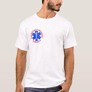 Camiseta T-shirt médico da emergência do salvamento do fogo