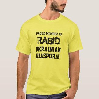 Camiseta T-shirt: Membro orgulhoso da diáspora ucraniana