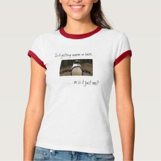 Camiseta T-shirt menopáusico do pinguim