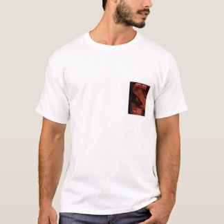 """Camiseta T-shirt mental oficial do """"olho"""" das cicatrizes"""