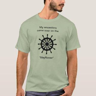Camiseta T-shirt - meus antepassados vieram sobre em…