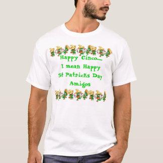 Camiseta T-shirt mexicano das pancadinhas da rua