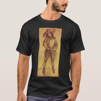 Camiseta T-shirt mexicano de Ranchera da menina do