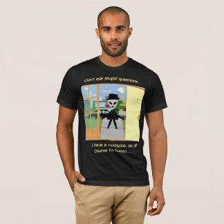 Camiseta T-shirt: MIB com bigode