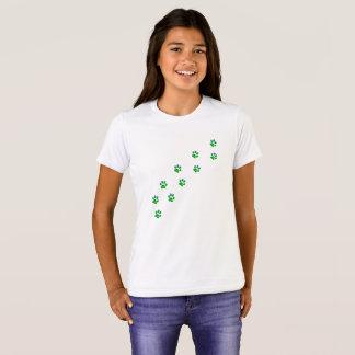 Camiseta T-shirt minúsculo das luzes de céu do inverno de