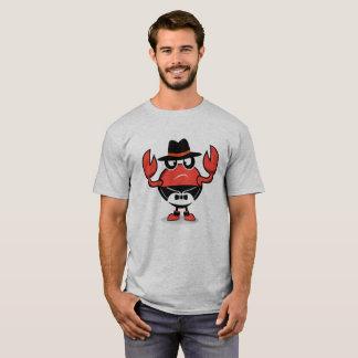 Camiseta t-shirt modelo do caranguejo