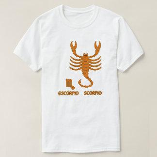 Camiseta T-shirt moderno da cor do sinal do zodíaco da