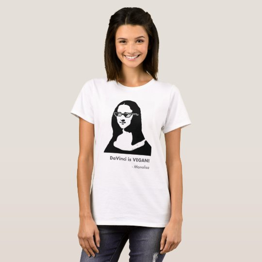 Camiseta T-shirt Monalisa Deal With It!