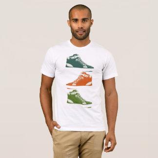 Camiseta T-shirt na moda das sapatilhas de PAGA