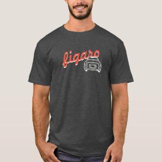 Camiseta T-shirt na moda de Monoline do carro de Figaro do