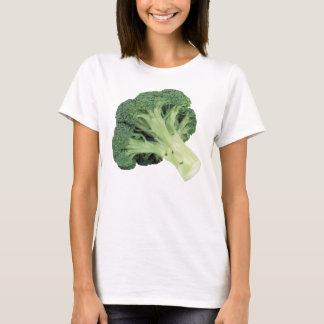 Camiseta T-shirt Nano do Hanes das mulheres dos brócolos