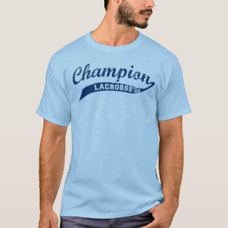 Camiseta T-shirt não oficial do Lacrosse do campeão