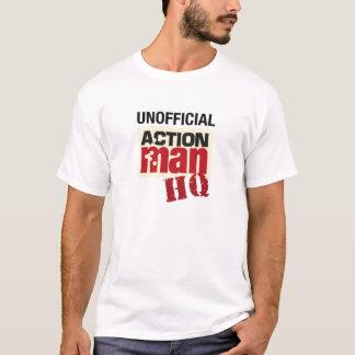 Camiseta T-shirt não oficial do QG do homem da ação