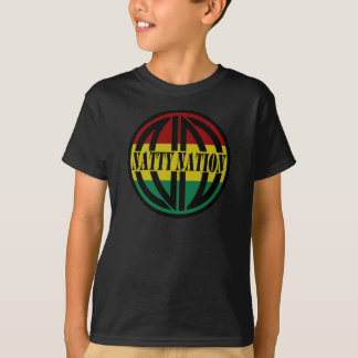 Camiseta T-shirt NATTY da juventude do logotipo
