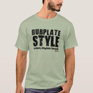 Camiseta T-shirt necessário do estilo de Dubplate do