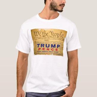 """Camiseta T-shirt; """"Nós"""" as pessoas das Trunfo-Moedas de um"""