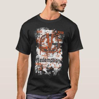 Camiseta T-shirt notável alaranjado do temor 666 da