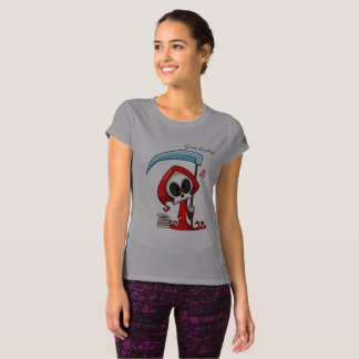 Camiseta T-shirt novo cinzento do equilíbrio