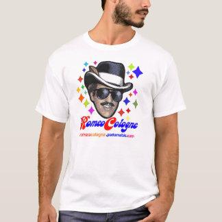 Camiseta T-shirt novo da cor da água de Colônia de Romeo