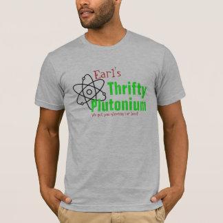 Camiseta T-shirt nuclear do plutônio da ciência cómico