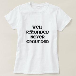 Camiseta T-shirt nunca aterrado total