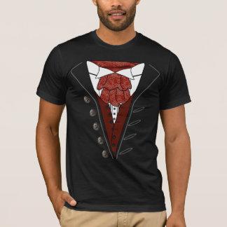 Camiseta T-shirt o Dia das Bruxas de Dracula do lenço do