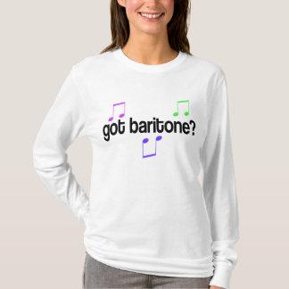 Camiseta T-shirt obtido da música do barítono