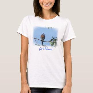 Camiseta T-shirt obtido dos azuis!