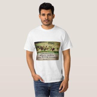 Camiseta T-shirt ocidental, cristão