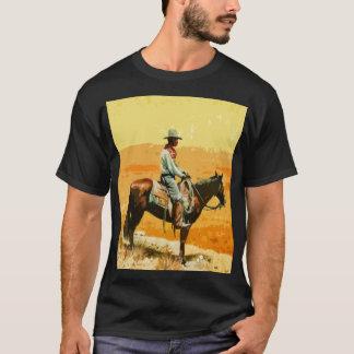 Camiseta T-shirt ocidental selvagem do pop art
