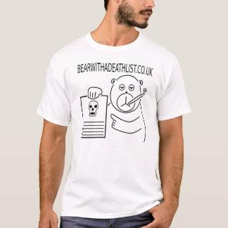 Camiseta T-shirt oficial de bearwithadeathlist.co.uk