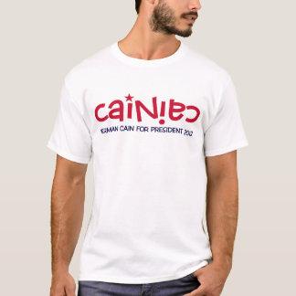 """Camiseta T-shirt oficial de """"Cainiac"""" - Cain 2012"""